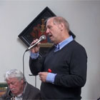 Edwin zingt Honeysuckle Rose in Zwolle