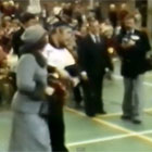 Ome Willem opent met prinses Beatrix de Vierstee in Maartensdijk (1978)