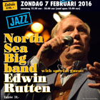 Edwin met North Sea Big Band in Sociëteit Engels Den Haag (2016)